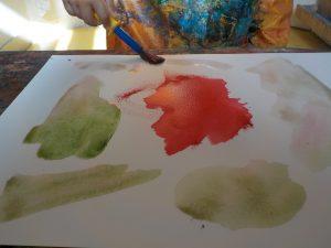 projet art : aquarelle