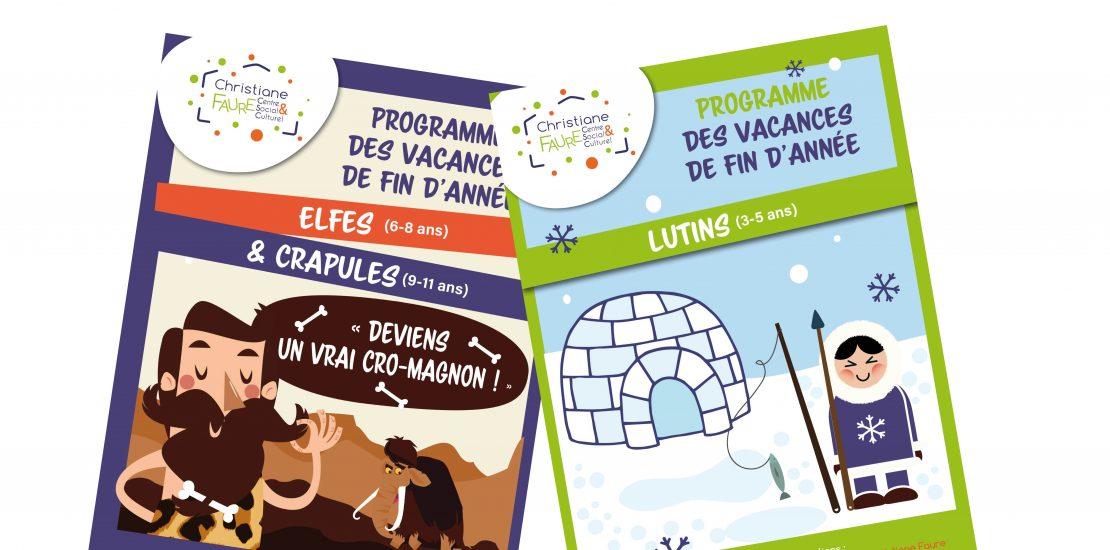 Programmes des vacances de fin d'année 2017